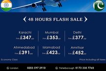2016 flight offer for India and Pakistan