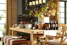 dining room ideas / by Berenice Cobos