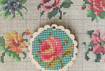 Cross stitch / by Paula Cooper