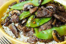 Rice. & stir fry