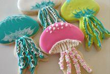 Icing Beach Cookies