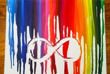Infinity canvas / Crayon infinity canvas