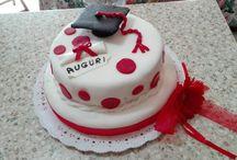 Pasta di zucchero / Torta di laurea