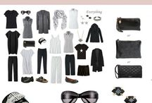 Capsule wardrobe travel
