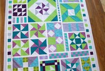 Quilting / Ideas for my first ever quilting project, the sampler quilt.