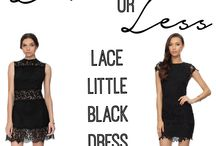 Fashion: Luxe or Less