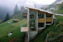 Casas en pendiente