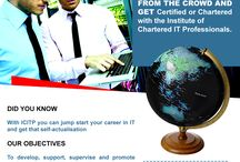 become chartered or certified