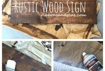 Projects out of barnwood