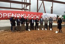 Dripping Springs Groundbreaking Ceremony / Five Star ER | Dripping Springs groundbreaking ceremony, spring 2015.