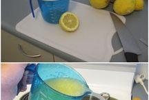 Lemon Cordial / Lemonade