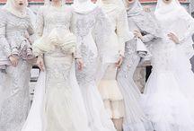 moslem wedding dress