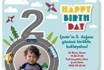 Çınar's 2. Birthday Party :)