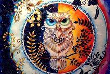 Väritystyöt - coloring paintings