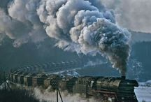 Trains: the old and onward