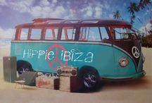 cars/van's hippie