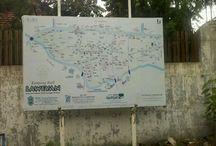 """Strolling Laweyan """"batik"""" village in Surakarta"""