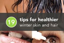Winter Skincare / All the tips and info about how to keep your skin soft and supple in the Winter