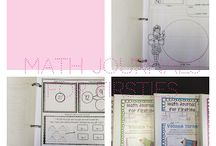 Math Journaling / Math journals can be a vital time for students to make connections in math, grow ideas, become risk takers, and receive validation in their thinking.  I love math journal and wanted to share some ideas from my classroom.
