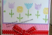 CTMH Jan 14 Cross-stitch wishes SOTM / uses for Cross-stitch whishes CTMH stamp set