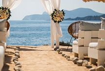 Dreamy beach wedding