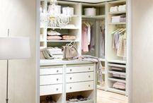 Schlafzimmer und Ankleide