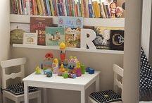 zona de lectura infantil
