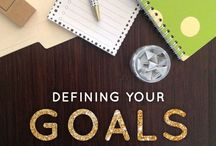 Goal Setting / Setting goals is a vital part of running a successful business! These are my tips and ideas on how to successful set goals.