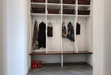 Wordrobe / Inspiracje do urządzenia hallu i garderoby