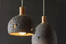светильники бетонные