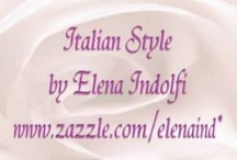 Elena Indolfi  Zazzle Products / You can find a great variety of customizable products for any occasion at  http://www.zazzle.com/elenaind* and  http://www.zazzle.com/elena_indolfi*  / by Elena Indolfi