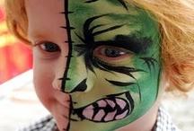 Face paint / by Megan Gurske Flierl