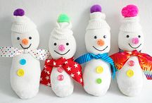 Christmas Crafts / For big and little kids at Christmas!