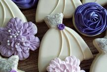 wedding royal icing cookies