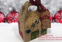 Joy Clair - Christmas Gift Tags / www.joyclair.com
