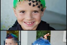 Crazy Hair day for the kids / by Nicole Monaghan