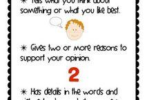 persuasive & opinion writing