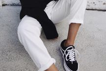 Sneakers addicted /  Inspo & Outfits with sneakers such as vans & with sneakers