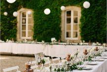 Outdoor wedding / Weddings in the great outdoors | pretty garden weddings | outdoor wedding ceremonies | outdoor wedding receptions | outside weddings | weddings in nature
