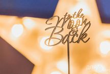 To the Moon & back - inspiring star wedding