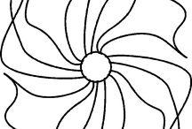 Quilts-Longarm drawings / by Barbara Bashaw