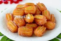 Evde tulumba tatlısı tarifi lezzetli