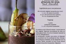 Pudding chocolat aux graines de chia