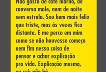 Poesias, frases e afins.