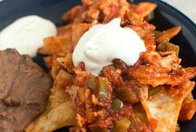 Mexican Breakfasts / Mexican breakfast recipes: hues rancheros, breakfast burritos, breakfast tacos, molletes, eggs, huevo a la Mexicana, chorizo and egg.