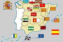 Banderas autonomías españolas