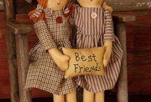 primative dolls
