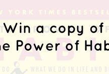 Power of habit giveaway