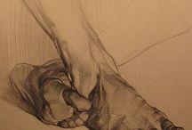 Art Sketch Feet