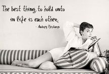 The Love Quotes Celebrity Quotes : Audry Hepburn…